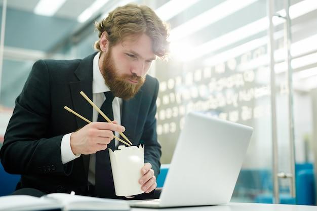 Dineren voor laptop