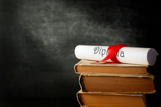 Diploma en boeken