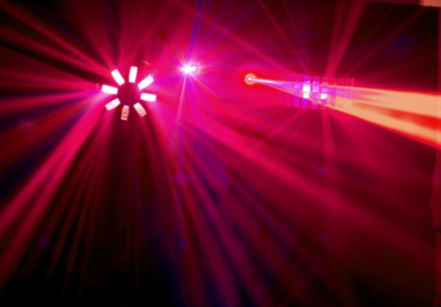 Disco. lasershow.