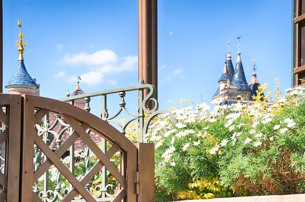 Disneyland, parijs - 9 september 2016: disneyland park in parijs, frankrijk.