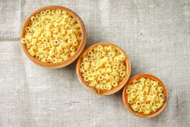 Ditalini macaroni pasta ringen