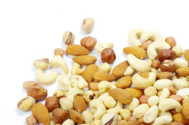 Diverse gemengde noten
