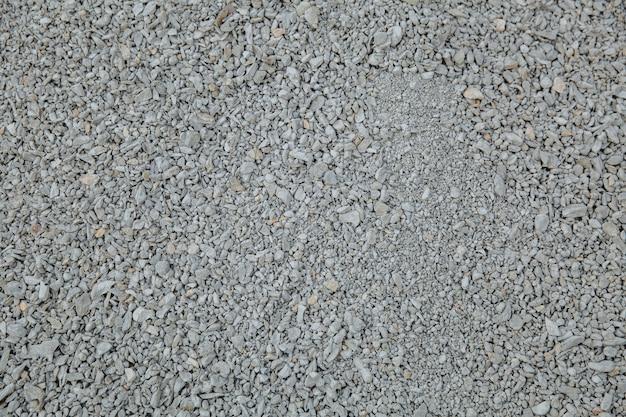 Diverse kiezels en stenen: een abstracte compositie. textuur