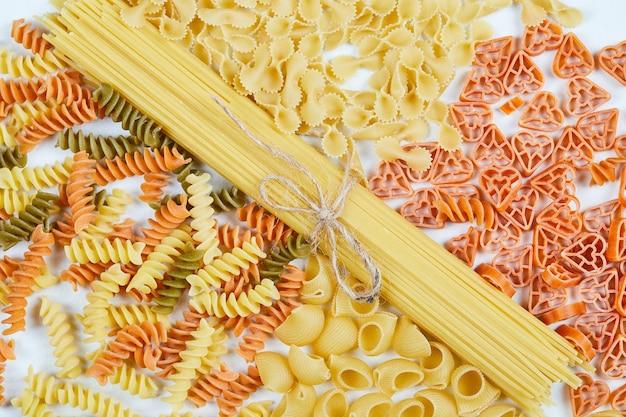 Diverse soorten pasta.