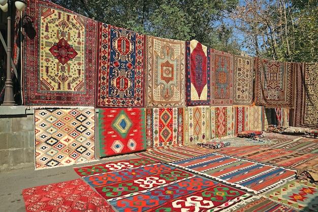 Diverse tapijten te koop
