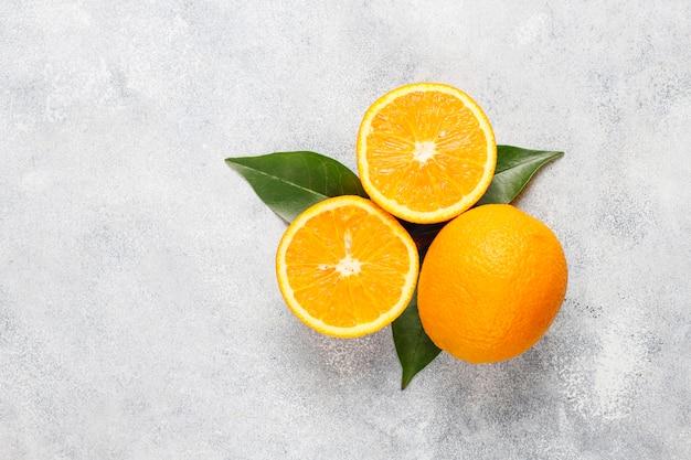 Diverse verse citrusvruchten, citroen