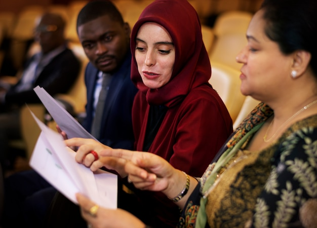 Diversity people international conference partnership
