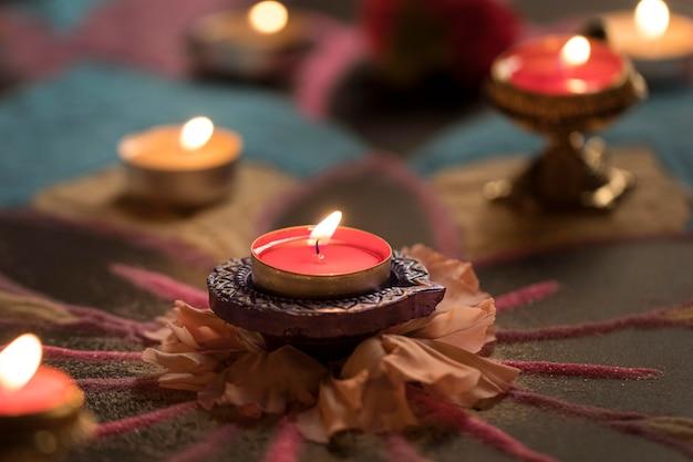 Diwali-festival van lichtentraditie
