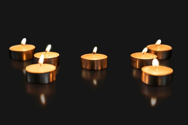 Diwali kaars achtergrond, esthetische vlam afbeelding