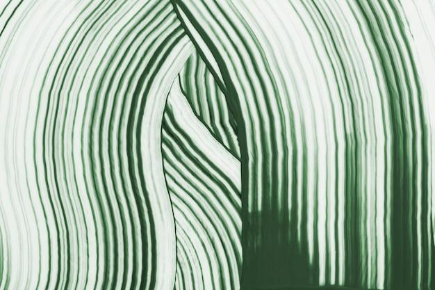Diy zwaaide getextureerde achtergrond in groene experimentele abstracte kunst
