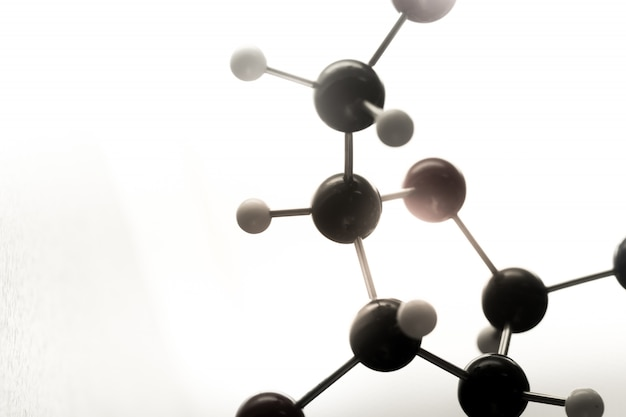 Dna, molecule, chemie in laboratoriumlaboratoriumtest