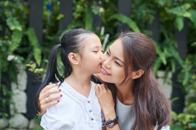 Dochter houdt van haar moeder