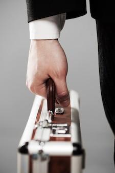 Documentgeval in zakenmanhanden