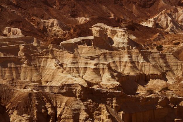 Dode zeezicht van de oude stad masada