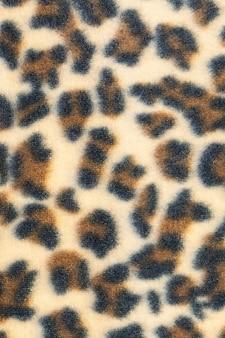 Doek luipaard patroon textuur.