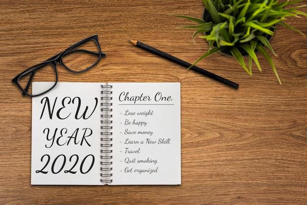 Doelstelling nieuwjaar doelenlijst 2020