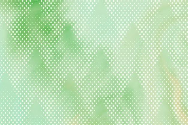 Doffe groene achtergrond met halftoonpatroon
