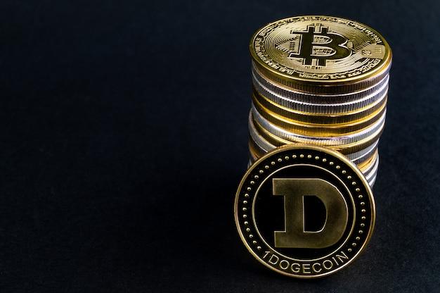 Dogecoin doge cryptocurrency betaalmiddelen in de financiële sector