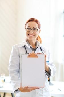 Dokter op het werk
