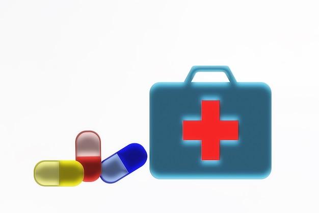 Dokterstas met pillen