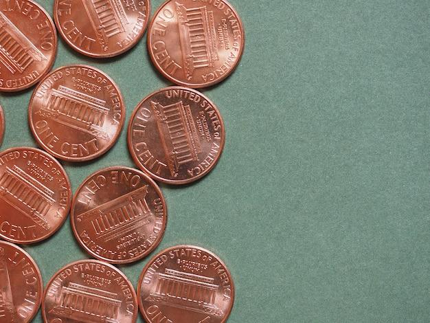 Dollar (usd) munt, munteenheid van de verenigde staten (vs)