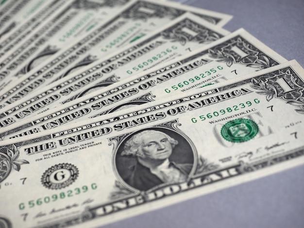 Dollarbiljetten, verenigde staten