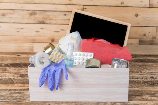 Donatiebox in een pandemie