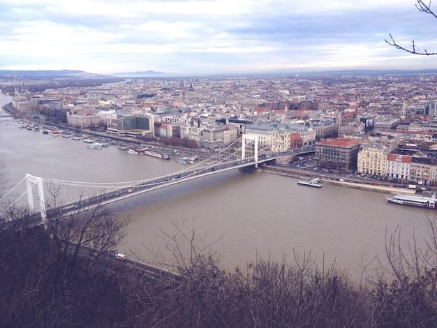 Donau in boedapest hongarije