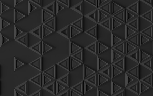 Donker driehoekspatroon