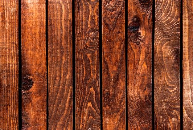 Donker hout voor textuur of achtergrond