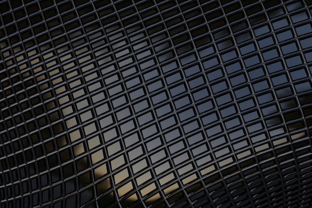 Donker metallic met rechthoekige textuur