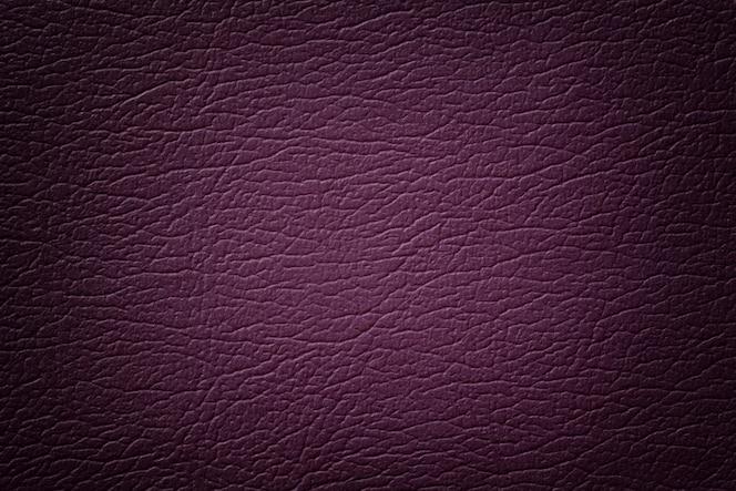 Donker paars leder textuur close-up