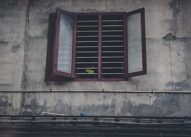 Donker venster
