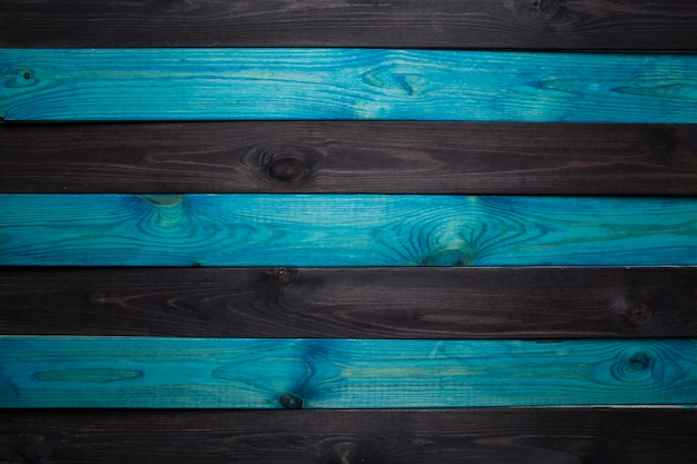 Donkerblauw hout