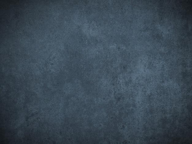 Donkerblauwe grunge oppervlakteachtergrond