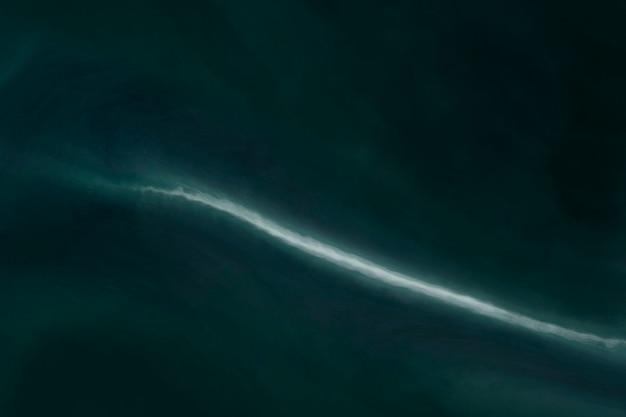 Donkerblauwe oceaangolf aquarel afbeelding