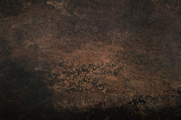 Donkerbruine abstracte textuur.
