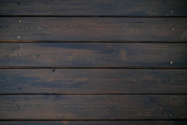 Donkerbruine houten muur achtergrondtextuur