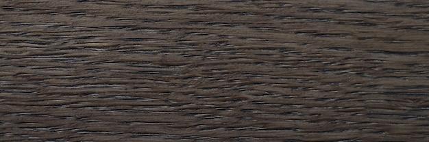 Donkerbruine houten plankclose-up