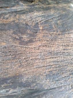 Donkerbruine oude houten vloer