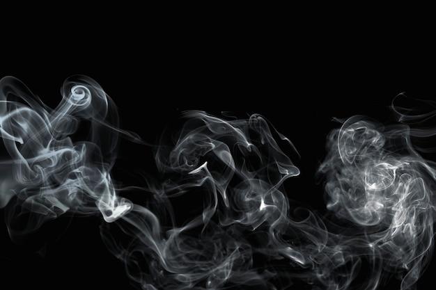 Donkere abstracte behangachtergrond, rookontwerp