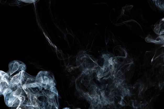 Donkere abstracte behangachtergrond, rooktextuur