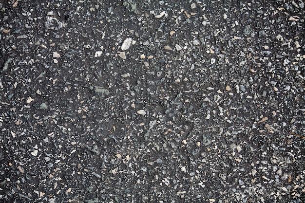 Donkere asfaltweg textuur achtergrond