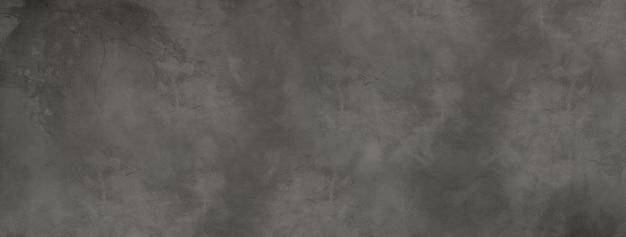 Donkere betonnen muur banner textuur behang