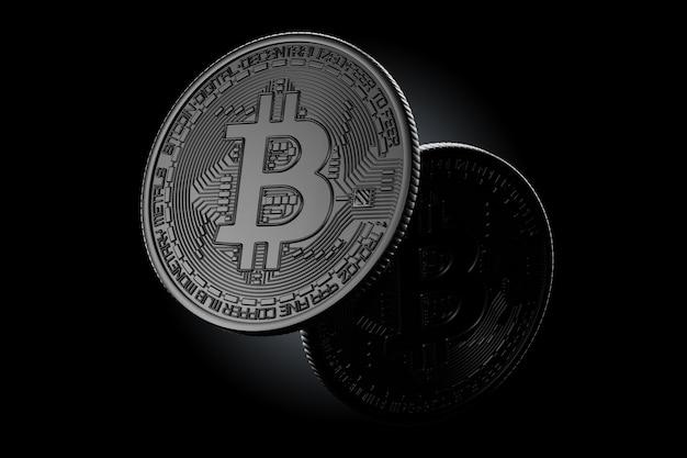 Donkere bitcoin-munten