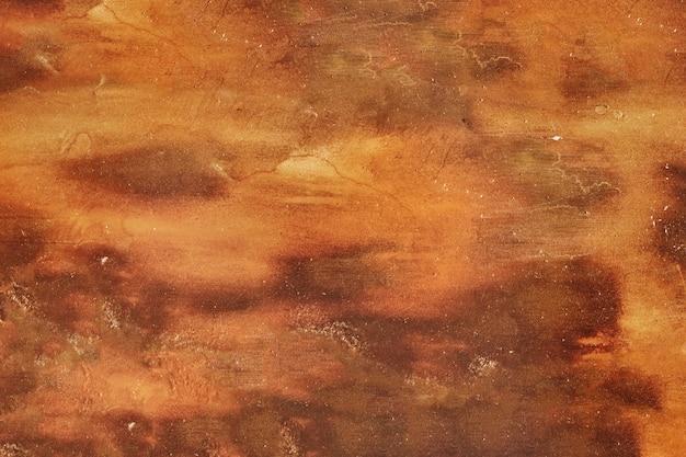 Donkere bruine oude grungy metaalmuur