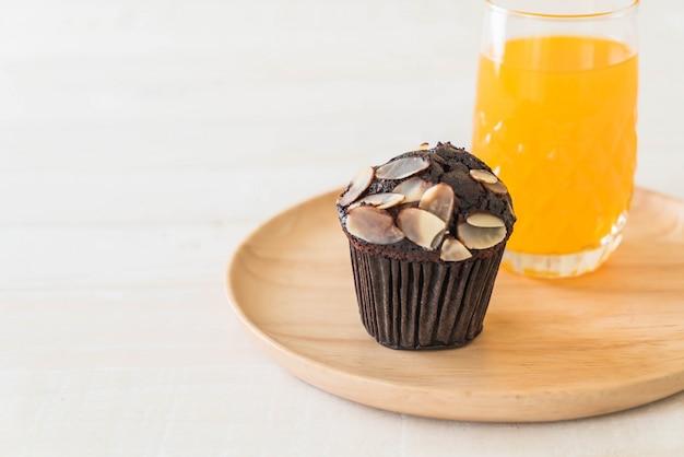Donkere chocolade cupcake