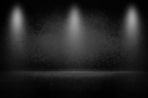 Donkere en grijze abstracte muur om product weer te geven