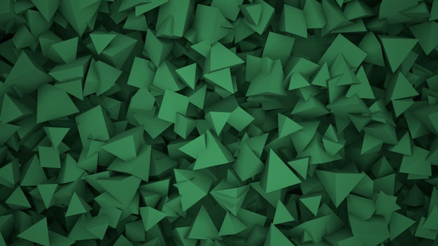 Donkere geometrische vormen, abstracte achtergrond. elegante en luxe stijl voor zakelijke en zakelijke sjabloon, 3d-afbeelding