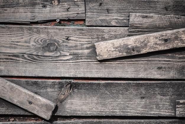 Donkere grunge houten oppervlak voor achtergrond. grunge houten panelen voor achtergrond
